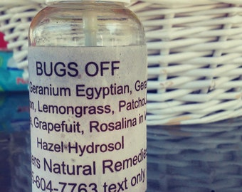 Bug Off All Natural Insect Repellent