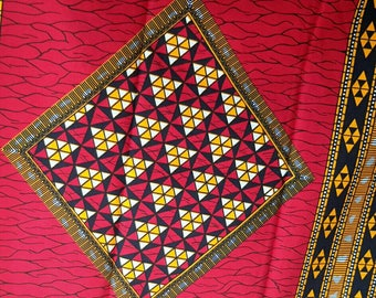 6 yards African fabric, African print, African Ankara, Ankara fabric, African clothing,