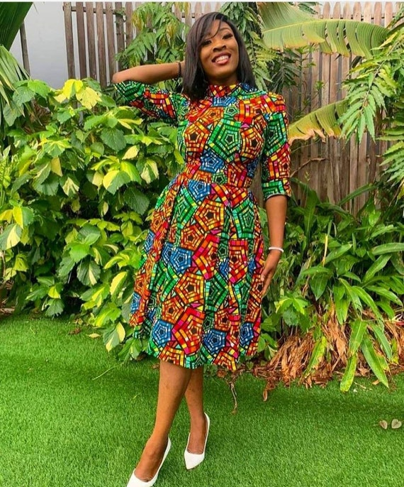 Titi African clothing for women African dress women/'s clothing Infinity wrap dress African clothing for women