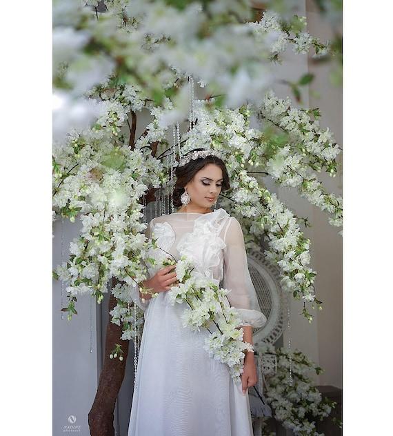 Standesamt GOWN STELLA dress Hochzeitskleid Wedding Photoshoot Brautkleid Kleid gw0q1dw