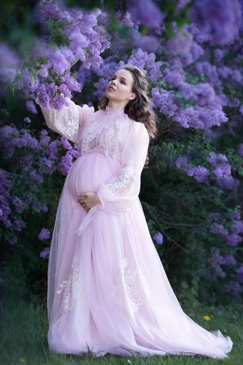 a2be151ef5 SOPHIE Maternity Dress for Photoshoot or Babyshower