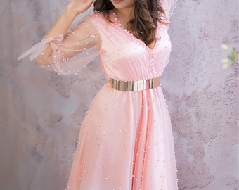 Scarlett gown wedding dress gown bridesmaids couture Photoshoot beads Photography Couture Robe photo shooting dress mommy and Me ball gown