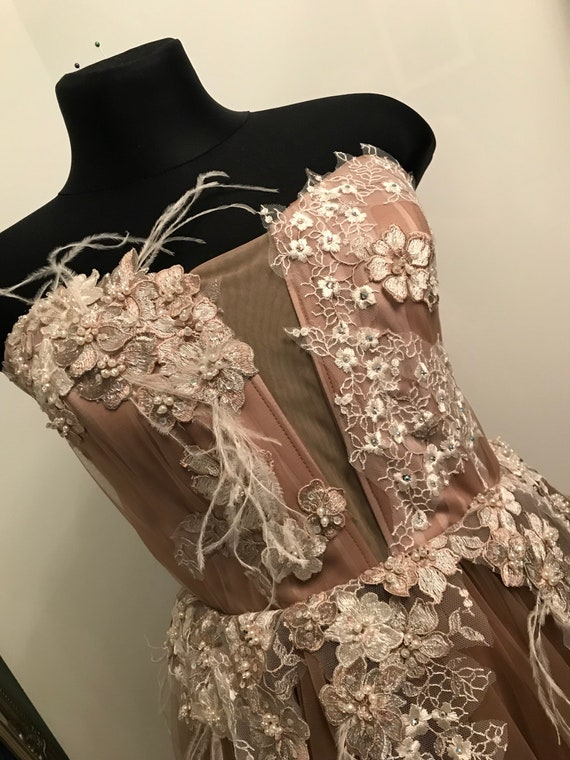haute Photoshoot Tulle Bouidoir for photo sleeves Photoshoot shooting couture Drop Dress gown maternity dress gown dress AFRODITA wedding Yw1Oqq