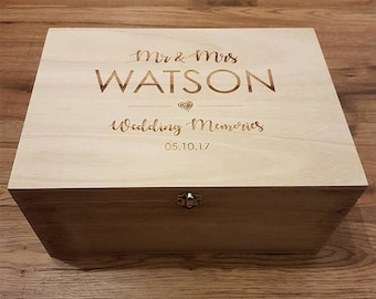 Wedding Box Etsy