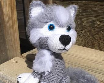 Husky crochet pattern