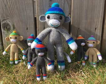 Easy crochet monkey pattern