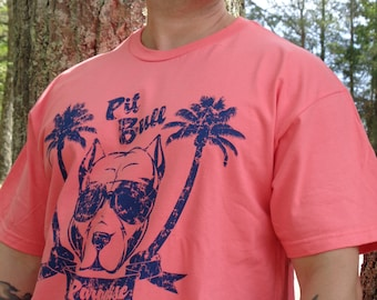 Zombie Kat - Pit Bull in Paradise - Coral Silk