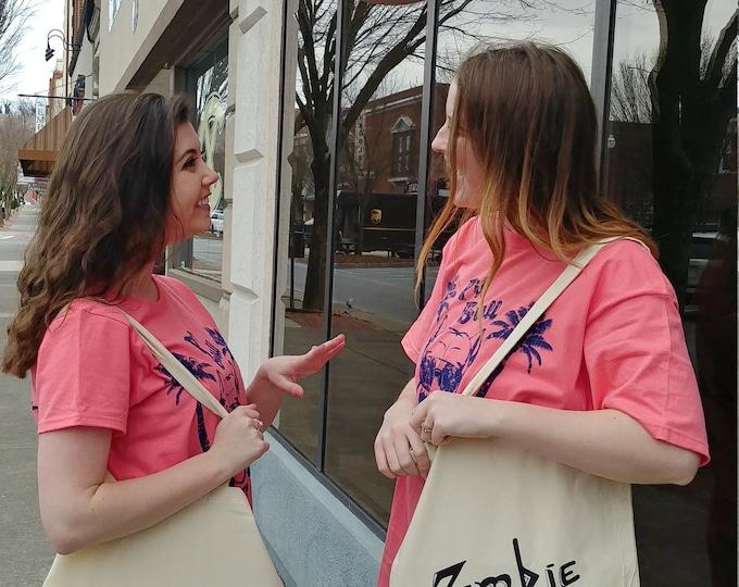 Zombie Kat Tote Bag