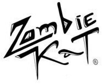 Zombie Kat Vinyl Bumper Sticker for Car