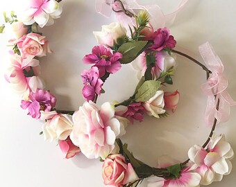 Baby Accessories The Cheapest Price Pink Flower Headband