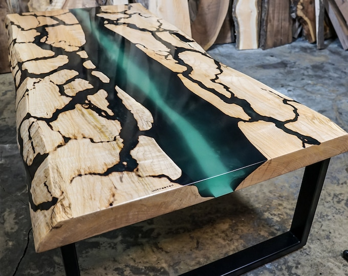 Featured listing image: Custom Estuary River  CoffeeTable
