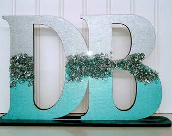 Personalize Bling Name Sign   College Décor   Bling Initial Stand   Bling Name Sign   Bling Dorm Décor   Bling Wall Décor   Bling Desk Stand