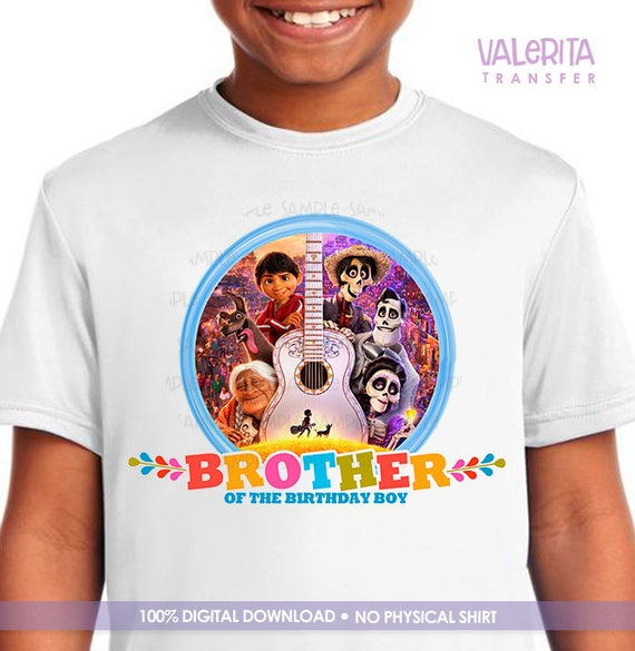 Coco Disney Birthday Shirt Movie