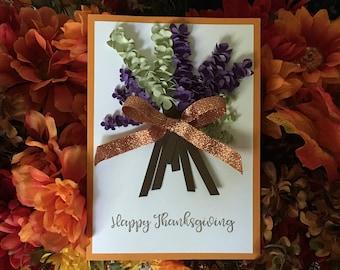 Thanksgiving Card, Holiday Card, Birthday Card, Graduation Card, Wedding Card, Sympathy Card, Get Well Card, Baby Shower Card Mother Card