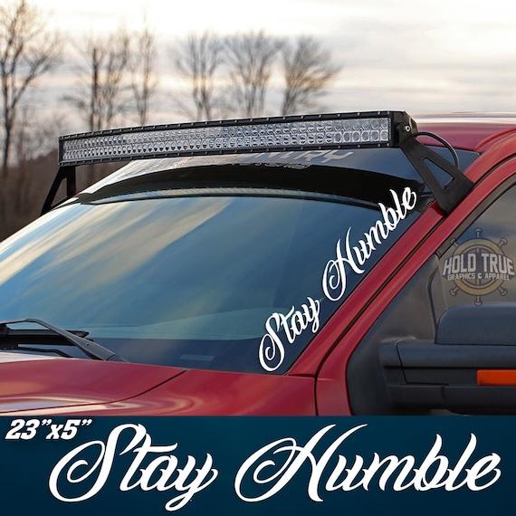 Powerstroke Turbo Diesel Hood Window Body vinyl decal Sticker Super duty Ford