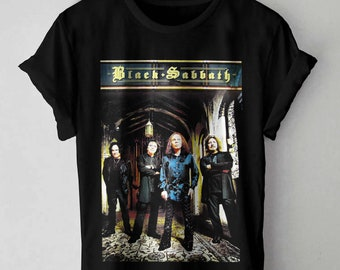 3207058d BLACK SABBATH T-Shirt, Black Sabbath Shirt, Black Sabbath Clothing Ronnie  James Dio Era Unisex and made of high quality 100% cotton