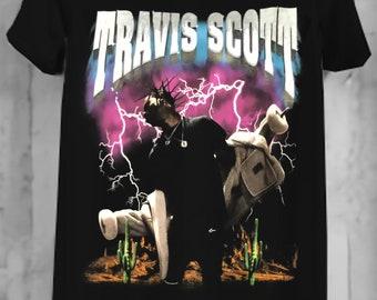 7719510b Travis Scott Shirt RODEO MADNESS Tour T-Shirt Unisex, Travis Scott Adult  Clothing Casual Tee Street Wear O-Neck