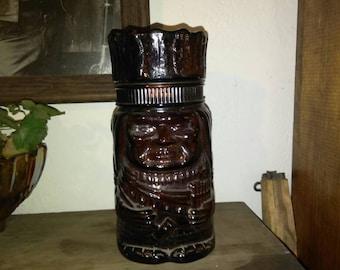 Vintage 1960s Advertising Store Display Indian Cigar Jar - Cookie Jar