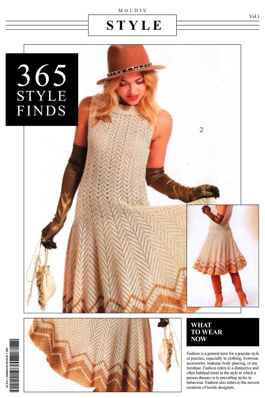 2d7e0fd4b60 Dress pattern for women crocheted. Color scheme and