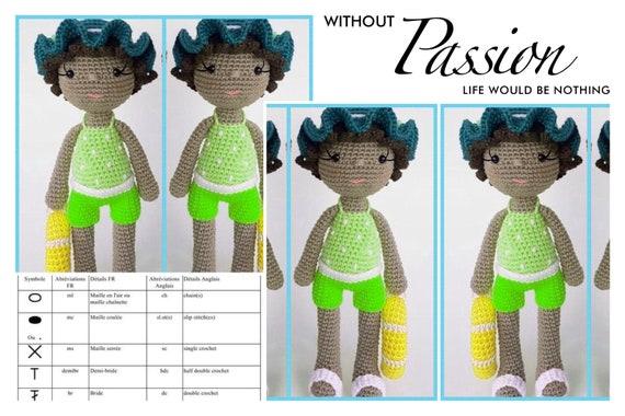 103 Best doll hats - crochet images in 2020 | Crochet, Doll hat ... | 380x570