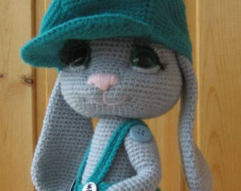 PATTERN: Rowdy-Dowdy Bunny crochet pattern