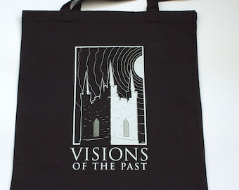 St Audoen's Bell Tower, Dublin - Tote Bag from Visions of the Past
