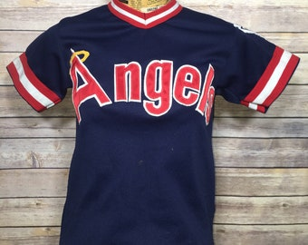 886405f9b Vintage Los Angeles Angels Youth Baseball Jersey Shirt (M)