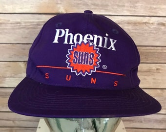 best service 6b423 aaafa Vintage Phoenix Suns Alternate Logo Snapback Hat