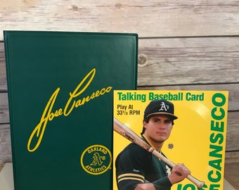 Jose Canseco Baseball Cards Etsy