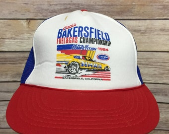 ba5b06d1f25b3 Vintage 80s Coors Bakersfield Fuel and Gas Championship Trucker Hat