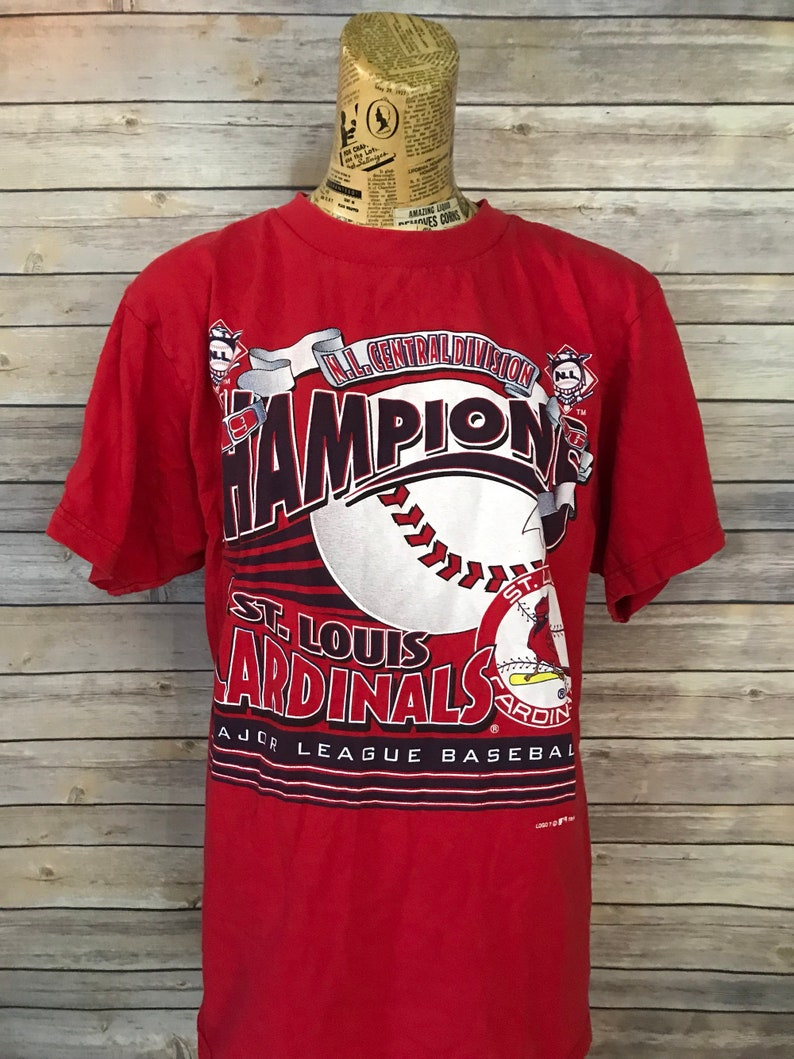 92569a9c6497 SALE Vintage 90s St. Louis Cardinals MLB Central Division