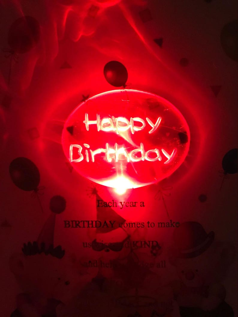 Musical Birthday Card With Light Up Multi Edition Available