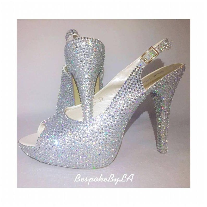 CenicientaEtsy Zapatos De Cristal Novia Zapatos ChstQrd