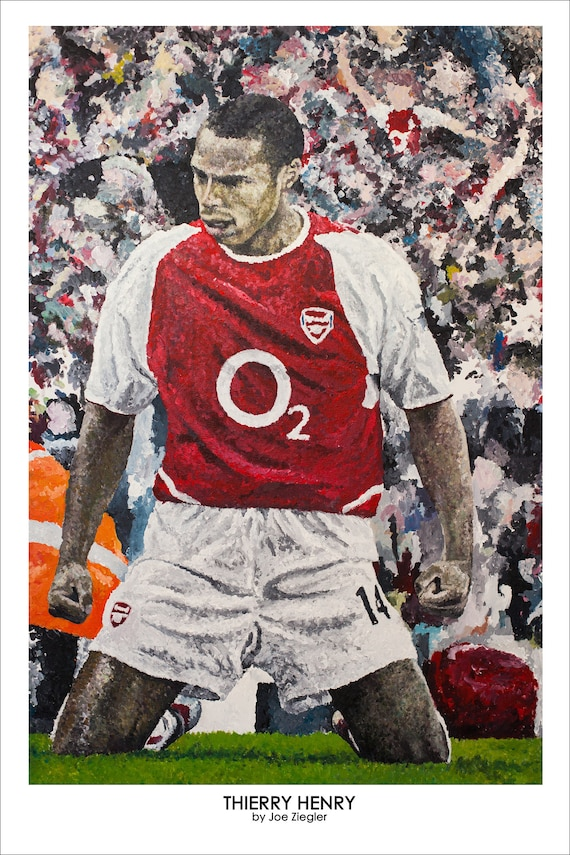 9750d485aec Thierry Henry Arsenal Limited Print
