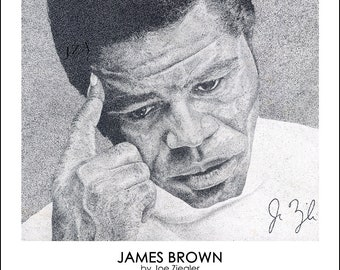 Limited Print: James Brown