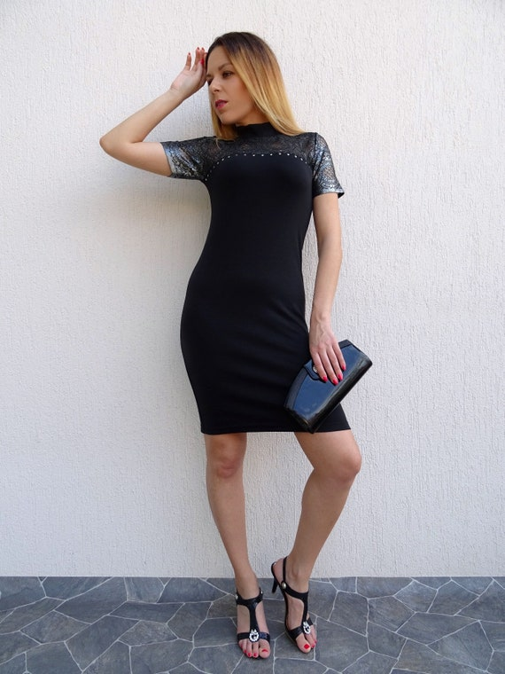 Dress Extravagant Dress Formal Pencil Dress Short Party Dress Dress Dress Dress Dress YANORA Skin Womens Tight Dress Black Cocktail qSHwWx4RvH