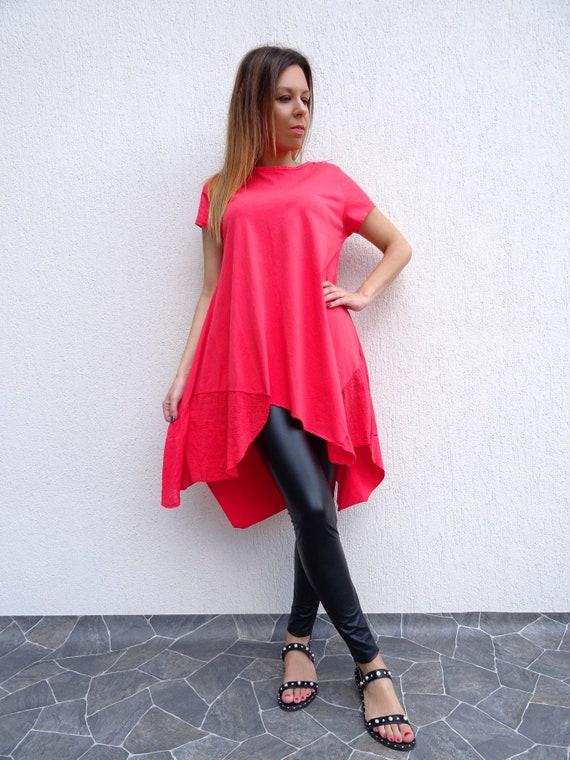 Tunic Top Summer Tunic Womens Cotton Tunic Tunic Plus Tunic Long Tunic Tunic Loose Asymmetric Size YANORA Tunic Tunic Tunic Oversize Dress q1q8t7U