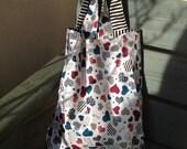Heart Environmental re-useable shopping bag, shopping bags, cotton bags,