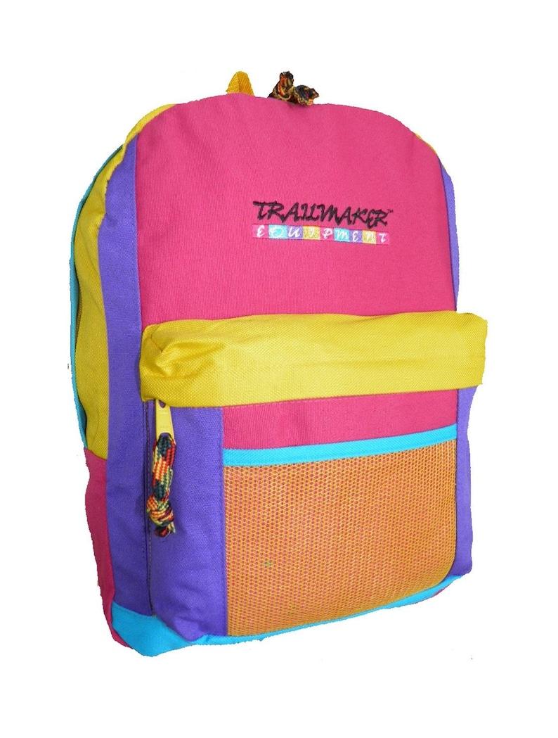 Trailmaker Equipment Backpack Colorful