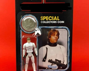 Vintage Style Custom Figure Shorty Space Cadet on Cardback with Coin