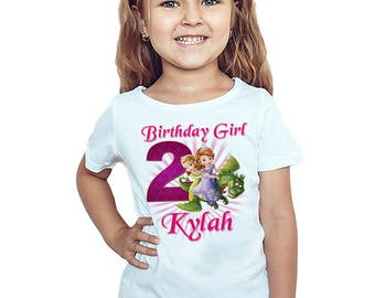 Kids Children/'s 7th Birthday T-Shirt Personalised Name Any Age Can Be Amended