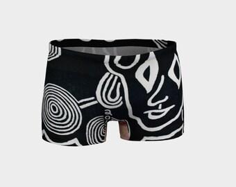 Me Black Ladies Shorts
