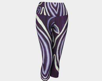 Purple Gal Yoga Capris are very very kewl. Purple is an in color. Buy em!