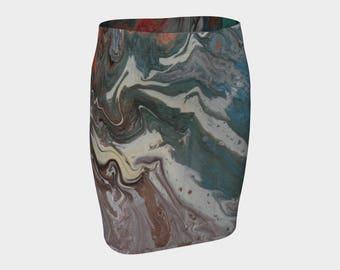 Kewl Ladies Fitted Skirt