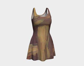 Mixed Flare Chick Dress