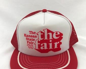 ba752c32d1461 1988 The Kansas State Fair Hat