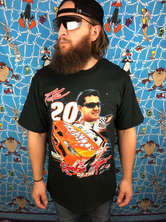 Vintage 1999 Tony Stewart Rookie Of The Year T Shirt