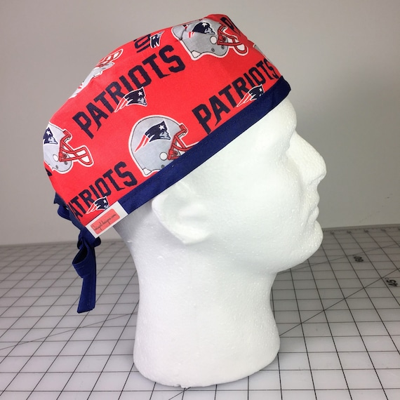 7be589af9e9 New England Patriots Scrub Hat Superbowl Football Team Fan