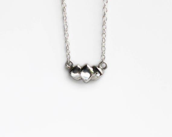 Necklace | Lamina Choker, handmade jewelry