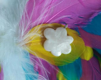 Fluffy Sky Cloud - Pearl White - Dreamers Pendant